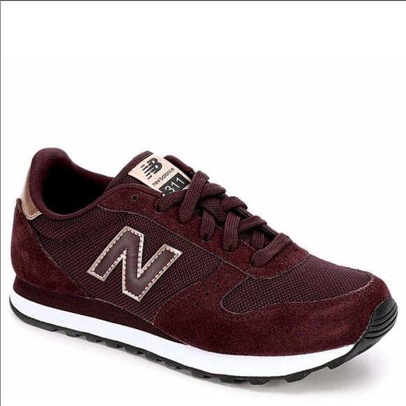 New Balance Shoes | New Balance 31 Sneaker Maroon Metallic Rose ...